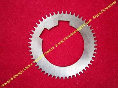 Non-standard circular blades, Hard alloy circular knife blades, Disc mouth tooth blades, Round steel cutting machine knives